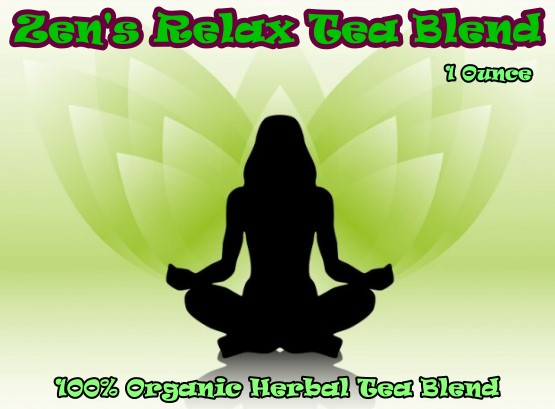 Zen Relax Herbal Smokeable Tea