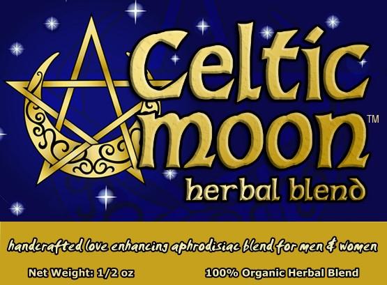 Increases sexual desire - Celtic Moon Herbal Blend