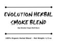 Evolution Herbal Smoking Alternative